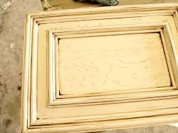 Glazed Kitchen Cabinet Doors White Stained Glaze Kitchen Cabinet Door And Drawer With Ornate