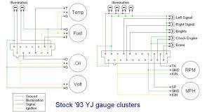 jeep tj cluster wiring diagram free wiring diagram