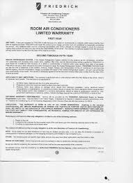 Authorization Letter Use Condo Unit top 40 complaints and reviews about friedrich air conditioner