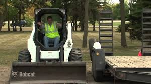 bobcat loader safety youtube