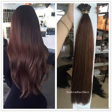 keratin tip extensions keratin stick i tip hair silky hot sale 100stands