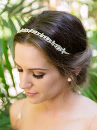bridal headband bridal and wedding headband gold headpiece