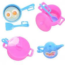 accessoire cuisine enfant nk 7 articles set enfant de jouer maison cuisine toys poupée