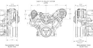 ls chevy victory series concept one pulleys