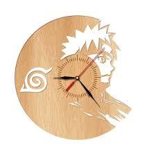 naruto wooden wall clock 2 models