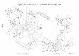 riso mz 770 790 mv 7690 parts list manual