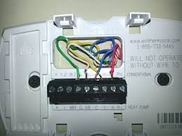 4 wire thermostat wiring color code tom s tek stop beautiful