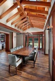 Craftsman Dining Table by Craftsman Dining Room With Exposed Beam U0026 Skylight In Woodside Ca