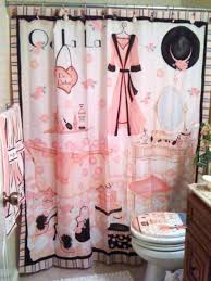 bathroom rms belindamendoza french pink showercurtain teenage