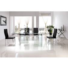 casabianca furniture miami dining table dining tables cb 010 clear 8