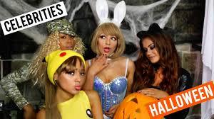 celebrities on halloween youtube