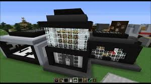 minecraft home design ep 31 black and white wool distric idea