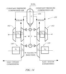 patent us6725643 high efficiency gas turbine power generator