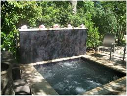 backyard spa and leisure home outdoor decoration