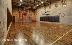 sophisticated basketball court in a house u003c3 love it also has a