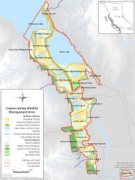 Canadian Rockies Map Directions Creston Wildlife
