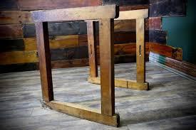 vintage butcher block workbench wood table legs antique industrial vintage butcher block workbench wood table legs antique industrial salvage decor