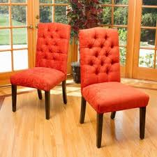 Red Leather Kitchen Chairs - kitchen u0026 dining chairs you u0027ll love wayfair