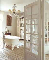 and lovely clawfoot tub elegant shabby chic bathroom with french