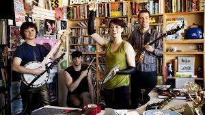 Npr Small Desk Amanda Palmer And The Grand Theft Orchestra Tiny Desk Concert