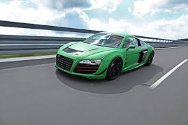 Audi R8 Green - racing one builds a weekend track racer out of the audi r8 v10
