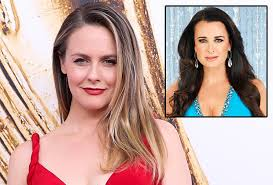 kyle richards needs to cut her hair alicia silverstone in tv land pilot kyle richards american