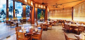 dine luxury beach resort thailand the surin phuket romantic