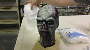 latex mask and prop head sculpting youtube