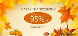 thanksgiving offers get high quality best price products on this thanksgiving