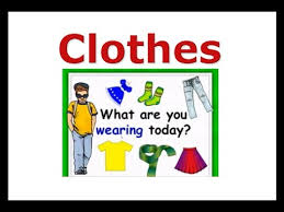 clothes vocabulary learning english lessons esl kids lessons