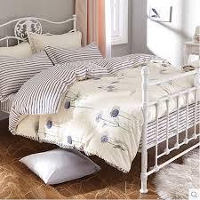 simple patterned white designer bedding sets on sale