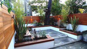 Small Courtyard Design by Urban Outdoor Garden