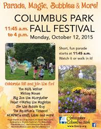 friends of christopher columbus park to host family fall festival