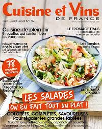 recettes cuisine et vins de achat magazine cuisine et vins de n 176 en numérique