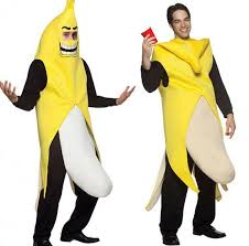 Funny Halloween Costumes For Men 2016 High Quality Men Cosplay Fancy Dress Funny Banana