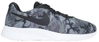 Nike Tanjun Black just sport nike tanjun print cool grey black wolf grey