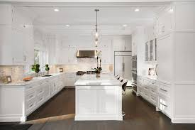 white kitchen no cabinets pros and cons of kitchen cabinets versus open shelves