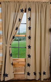 burlap shower curtain ballard designs country curtains for the