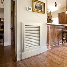 Decorative Return Air Grill Easy Update For The Home Replacing Standard Old Air Vent Covers
