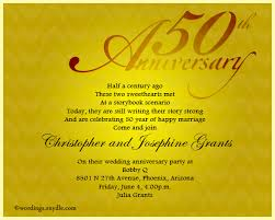 50th wedding anniversary invitations 50th wedding anniversary invitation wording wordings and