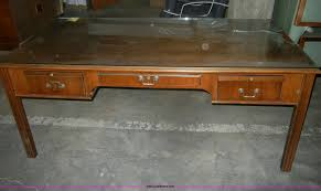 wood desk with glass top wooden desk with glass top item ab9923 sold tuesday jan