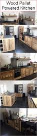 wood pallet powered kitchen home u2022 kitchen pinterest