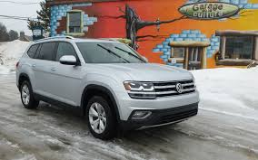 2018 Volkswagen Atlas In The Rain Not On Ice The Car Guide