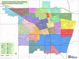 Davis Map Map And Boundaries Anaheim Elementary District