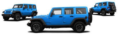 blue jeep wrangler 2015 jeep wrangler unlimited 4x4 rubicon hard rock 4dr suv