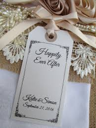 Table Place Settings by Happily Ever After Napkin Tie Table Place Setting White Tag