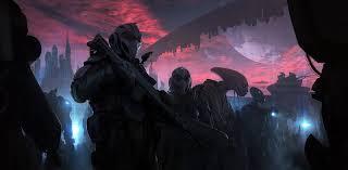 andree wallin space aliens futuristic skies artwork science