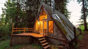 amazing stunning california a frame cabin youtube