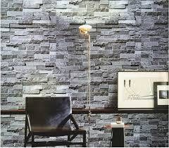 Stone Wall Mural Blooming Wall Faux Stone Brick Wall Mural Wallpaper Vinyl For
