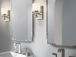 Framing Existing Bathroom Mirrors bathroom mirrors brushed nickel frame brushed nickel bathroom
